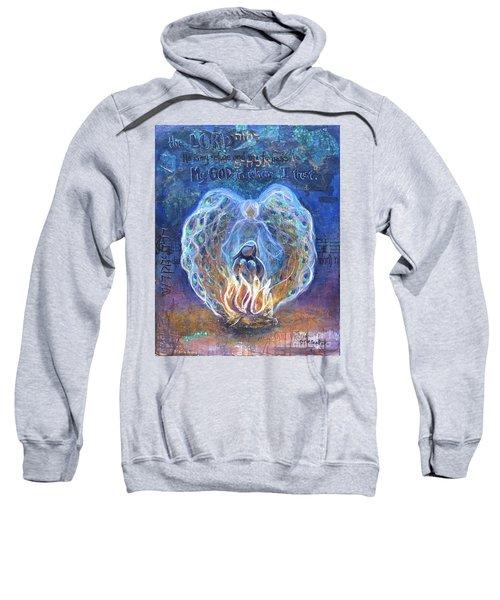 Peacock Angel Sweatshirt
