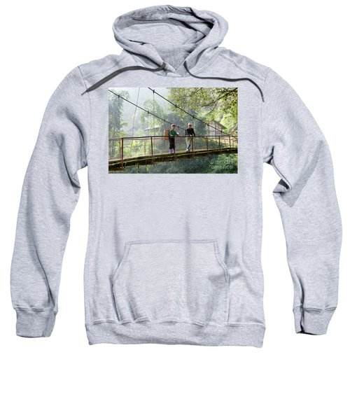 People And Children From Sapa, Mountainous Area Of Northern Vietnam In Their Daily Life. Sweatshirt