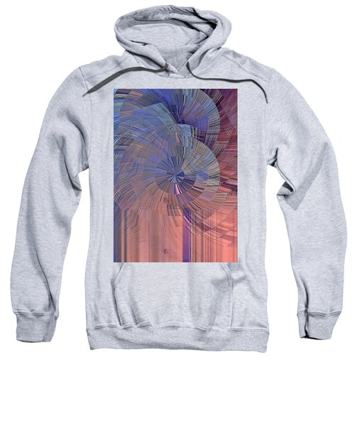 Pink, Blue And Purple Sweatshirt