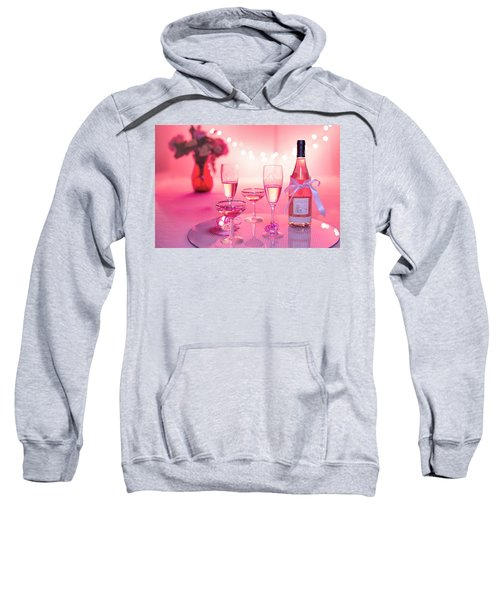 Pink Champagne Sweatshirt