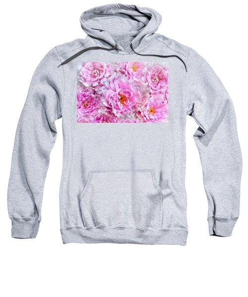 Pink Flowers Everywhere Sweatshirt
