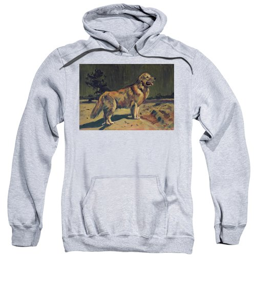 Pixel In The Dunes Of Loon Op Zand Sweatshirt