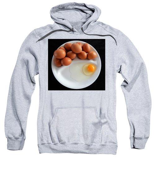 Plateful Of Eggs Sweatshirt