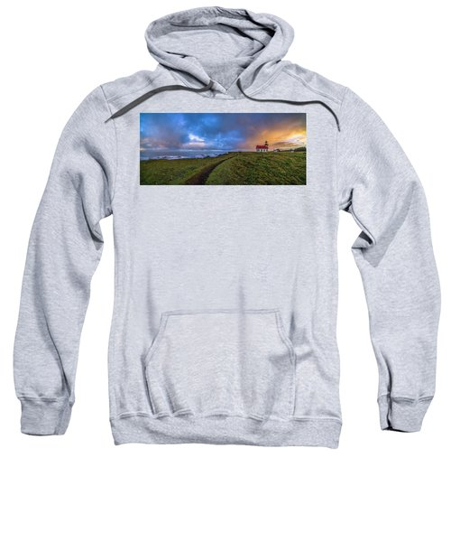 Point Cabrillo Light Station Panorama Sweatshirt