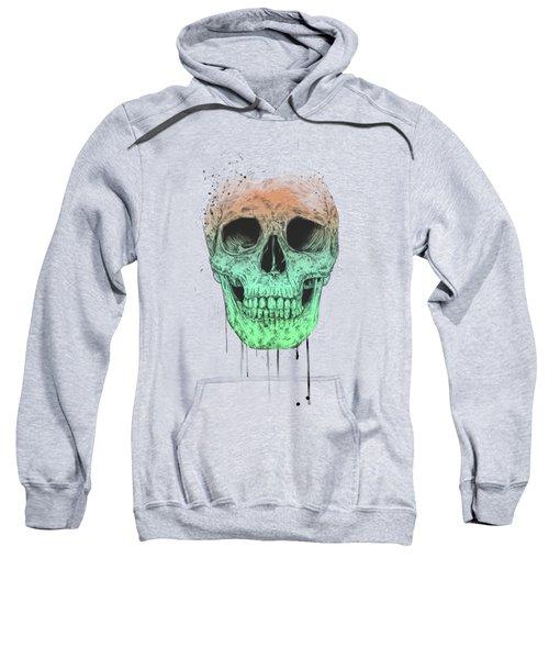 Pop Art Skull Sweatshirt