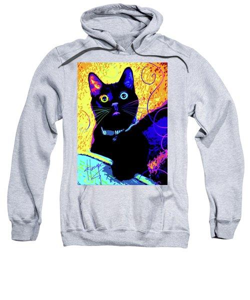 pOpCat Olive Sweatshirt