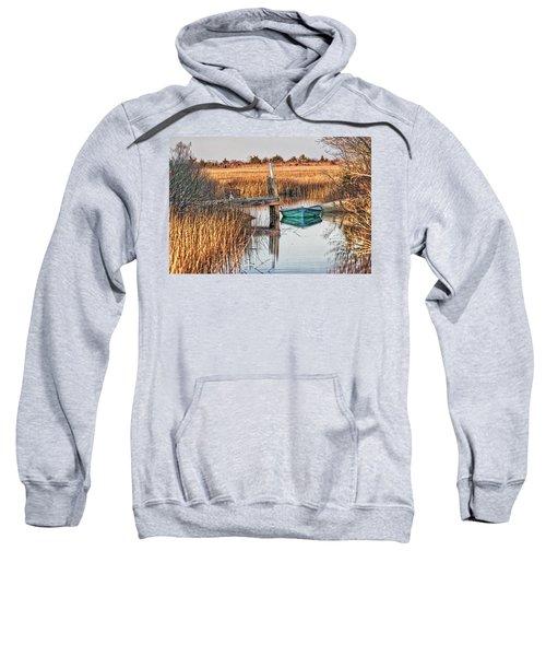 Poquoson Marsh Boat Sweatshirt