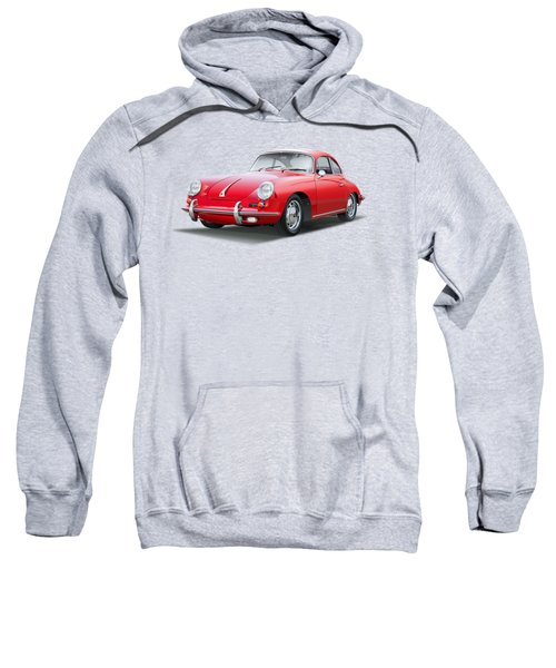 Porsche 356 No Background Sweatshirt