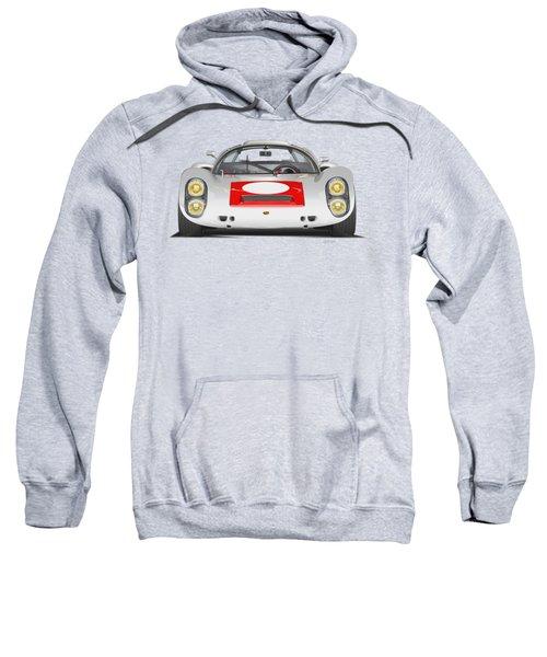 Porsche 910 No Background Sweatshirt