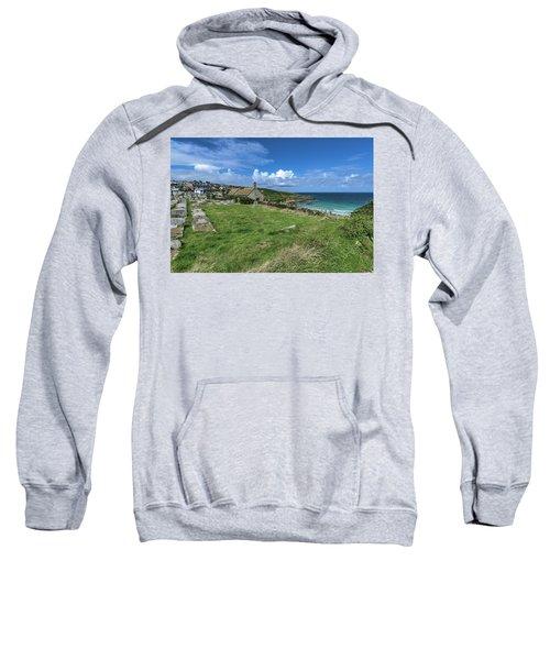 Porthmeor From Barnoon - St Ives Cornwall Sweatshirt