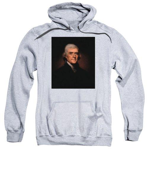 President Thomas Jefferson  Sweatshirt
