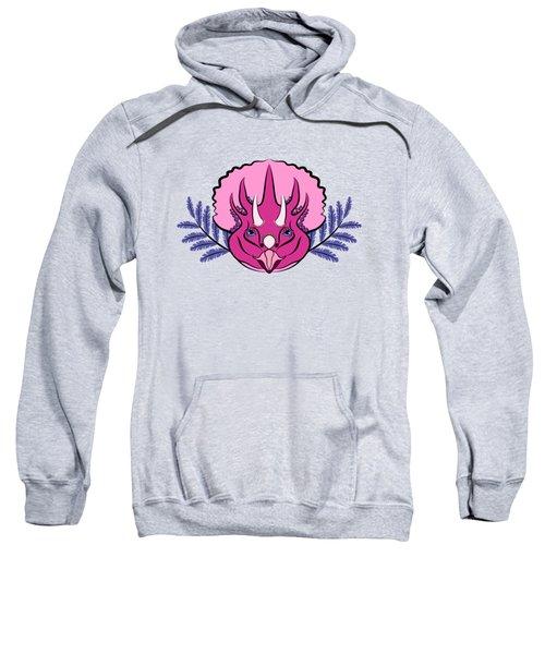 Pretty Pink Triceratops Sweatshirt