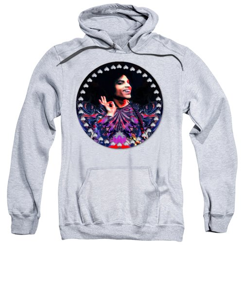 Prince Abstract Painting  Sweatshirt