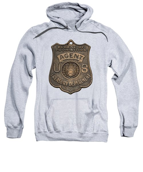 Prohibition Agent's Badge - C. 1920s Sweatshirt
