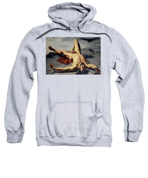 Prometheus Forged On A Rock, 1855 Sweatshirt