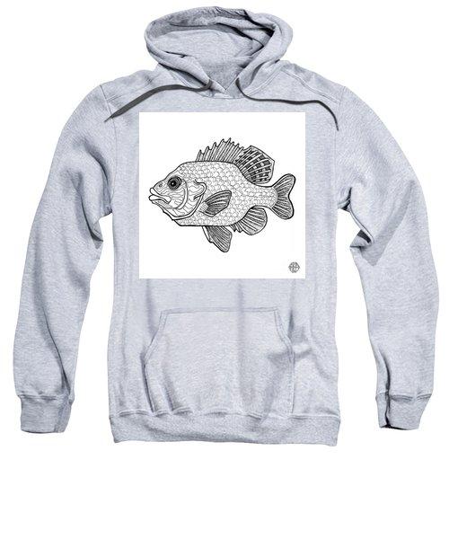 Pumpkinseed Fish Sweatshirt