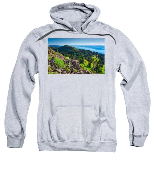 Purple Vista Sweatshirt