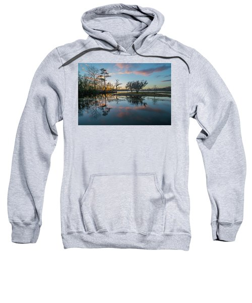 Quiet River Sunset Sweatshirt