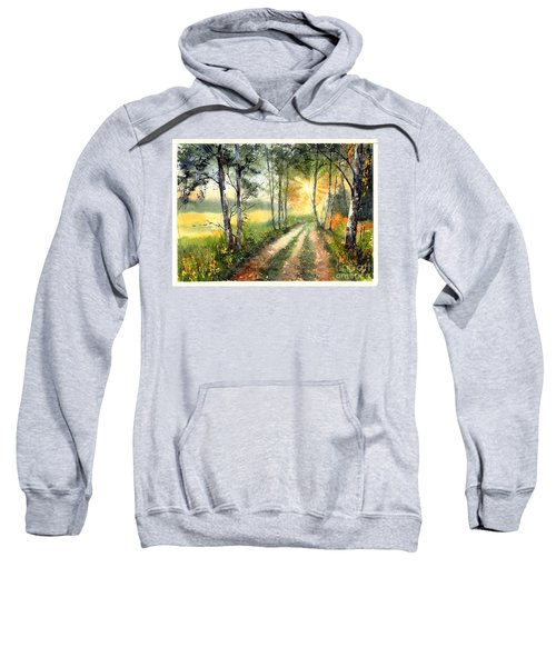 Radiant Sun On The Autumn Sky Sweatshirt