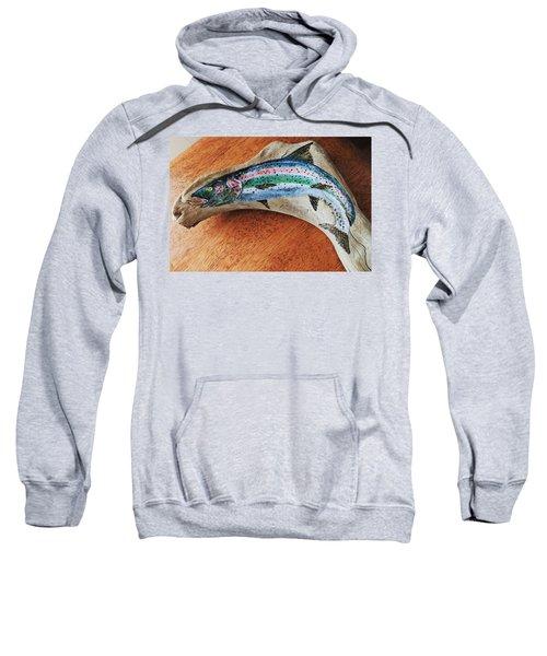 Rainbow Trout #1 Sweatshirt