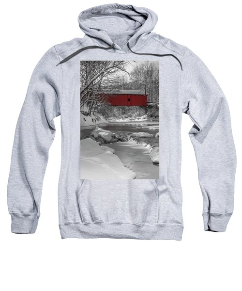 Red Covered Bridge Sweatshirt