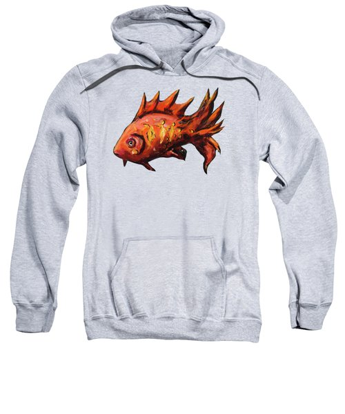 Red Fish Sweatshirt