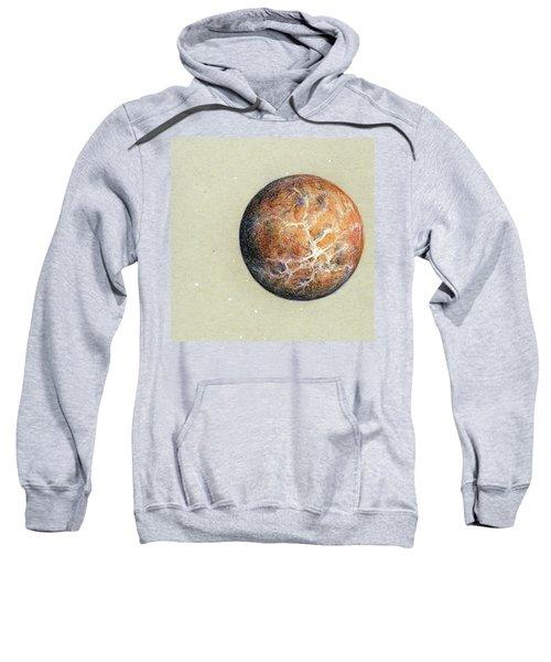 Red Planet Cropped Sweatshirt