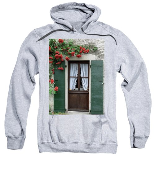 Red Rose Door Sweatshirt