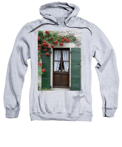Red Rose Door Sweatshirt