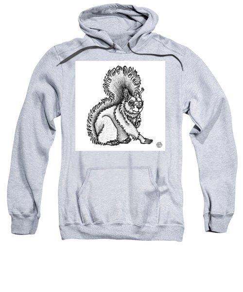Red Squirrel Sweatshirt