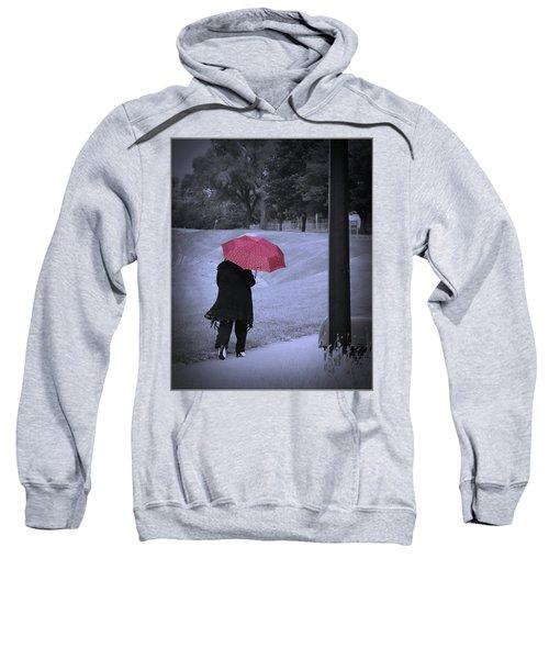 Red Umbrella Sweatshirt