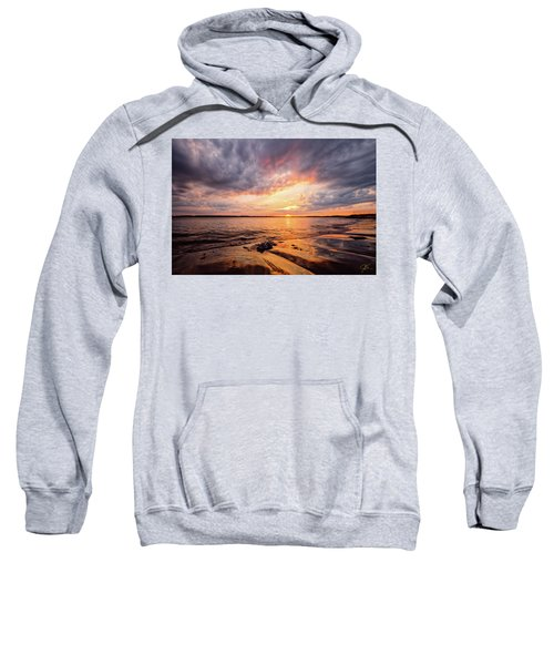 Reflect The Drama, Sunset At Fort Foster Park Sweatshirt