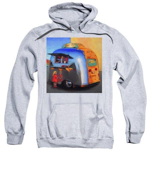 Reflections On An Airstream Sweatshirt