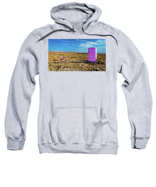 Refreshments Pit Stop In The Middle Of Nowhere Sweatshirt