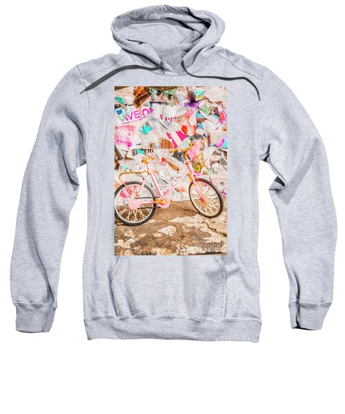 Retro City Cycle Sweatshirt