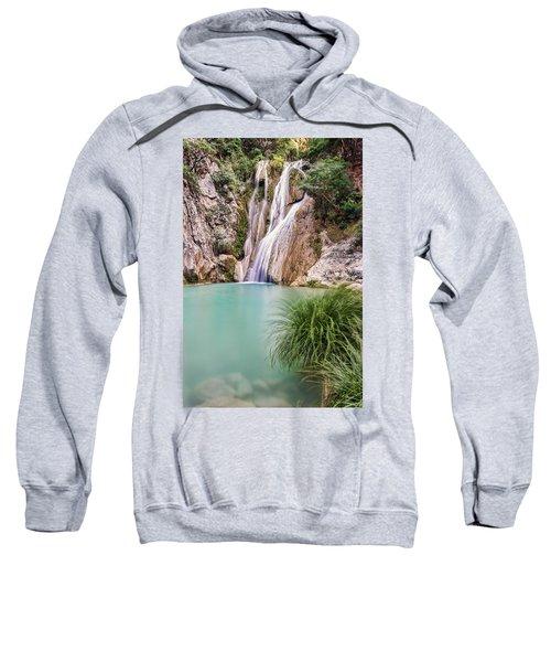 River Neda Waterfalls Sweatshirt