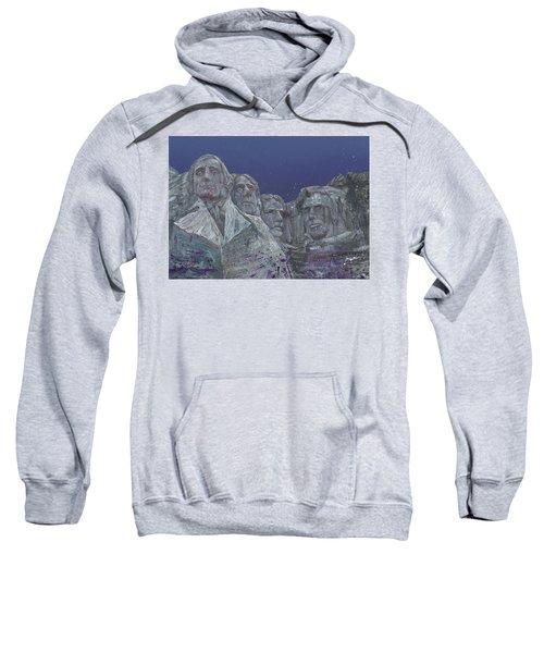 Rushmore Mixed Media Sweatshirt