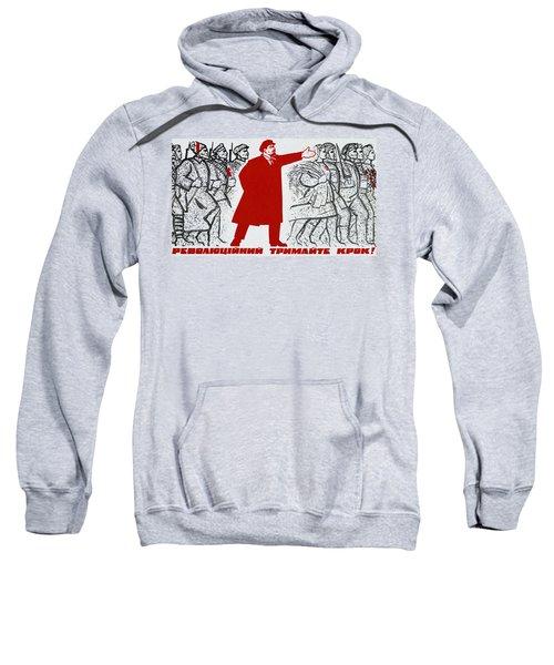 Russian Revolution, October 1917  Vladimir Ilyich Lenin Sweatshirt