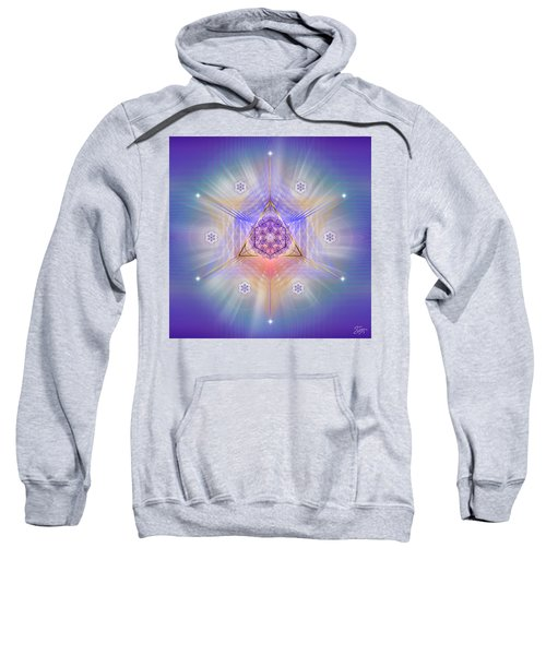 Sacred Geometry 734 Sweatshirt