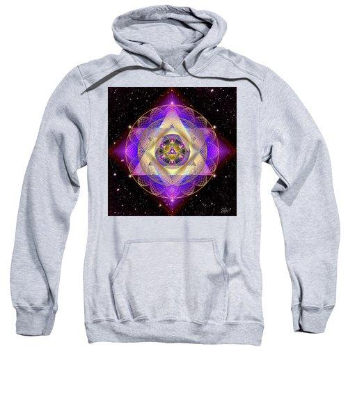 Sacred Geometry 741 Sweatshirt