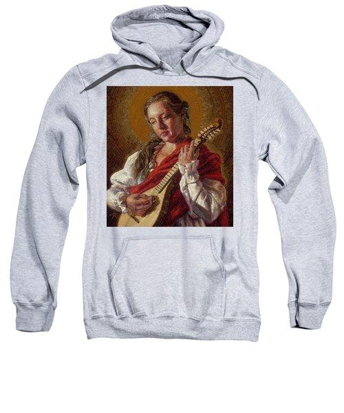 Saint Cecelia Mosaic Sweatshirt