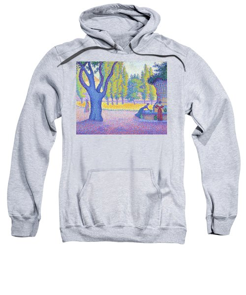 Saint-tropez, Fountain Of The Lices - Digital Remastered Edition Sweatshirt