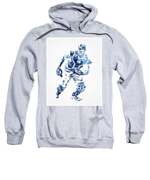 Salvador Perez Kansas City Royals Pixel Art 2 Sweatshirt