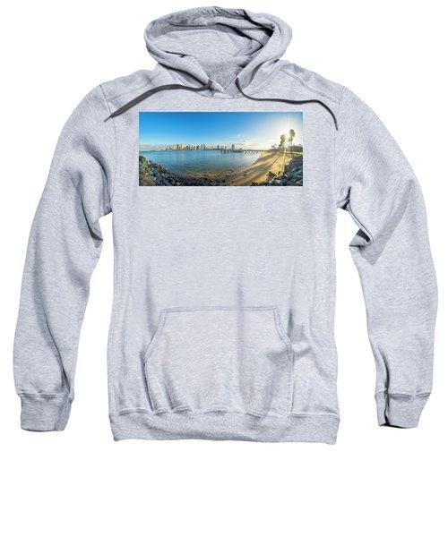 San Diego Bay - Panorama Sweatshirt