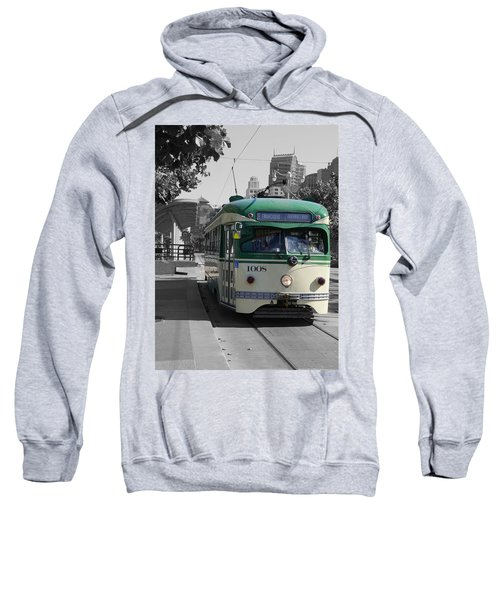San Francisco - The E Line Car 1008 Sweatshirt
