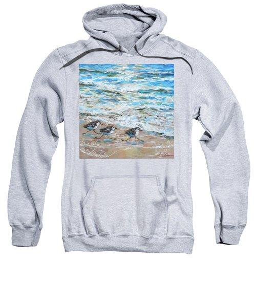 Sanderlings Running Sweatshirt