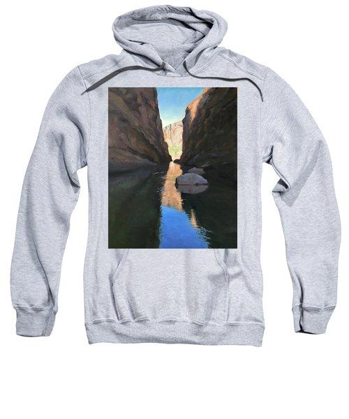 Santa Elena Canyon, Big Bend Sweatshirt