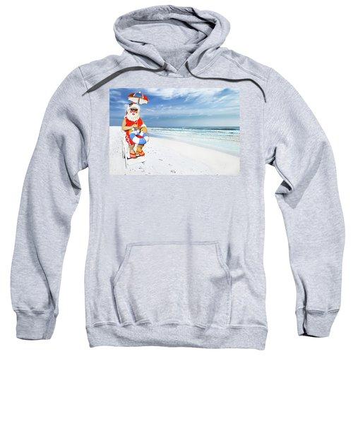 Santa Lifeguard Sweatshirt