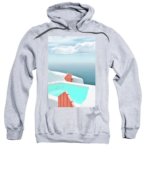Santorini Pool Sweatshirt