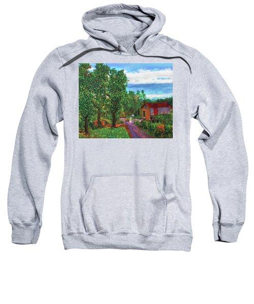 Scene From Giverny Sweatshirt